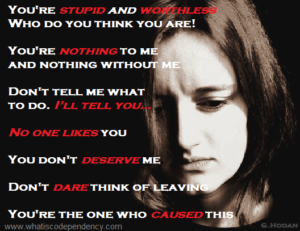 abuse, narcissistic abuse, shame, low self-esteem
