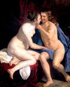 Naked Couple Van Loo