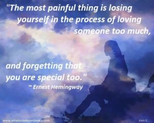 Losing Our Self - Hemmingway