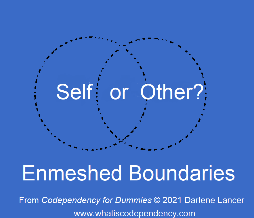 Self or Other; enmeshed boundaries